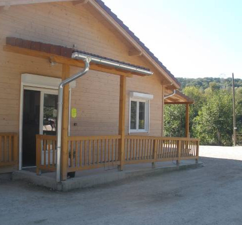 Chalet d'acceuil