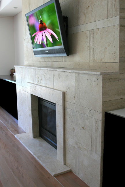 Abbotsford fire place