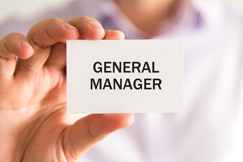 General Manager, Contract Logistics