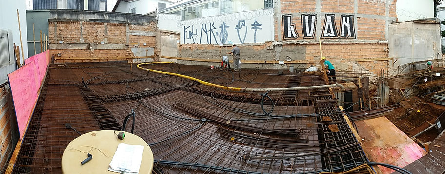 Laje concreto armado vigas pilares forma armacao engenharia civil