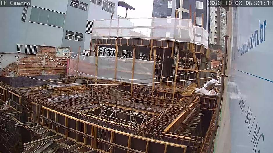 estrutura concreto armado montagem