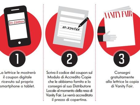 Condè Nast porta le sue lettrici digitali in edicola