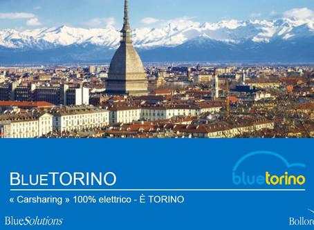 Car Sharing bluetorino: da Parigi a Torino