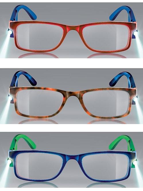 occhiale da lettura economico modello LED RECHARGE