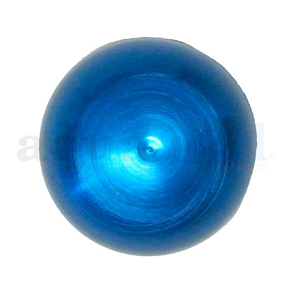 Anodized Aluminum Quartz Nipple Cap (Blue)