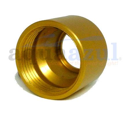 Anodized Aluminum Quartz Nipple Short (Bronze)