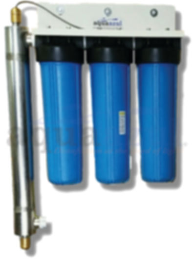 4 Stage UV & Filtration System