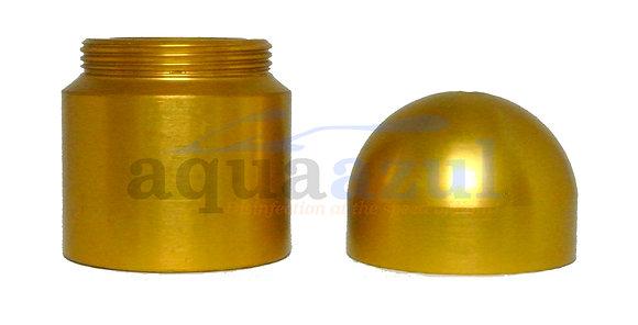 Anodized Aluminum Quartz Nipple Complete (Bronze)