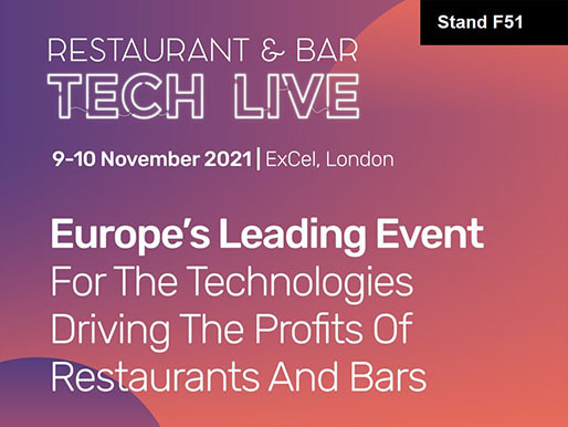Restaurant & Bar Tech Live 2021 - see you there!