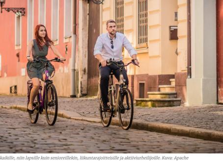 Sähköpolkupyörä laajentaa pyöräilyn mahdollisuuksia