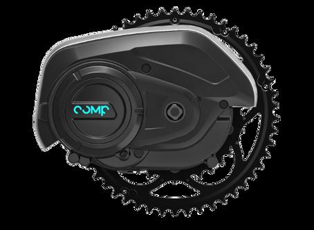 Uusi CompDrive keskiömoottori tarjoaa älykkään vaihteenvaihtoavustimen sähköpyörään