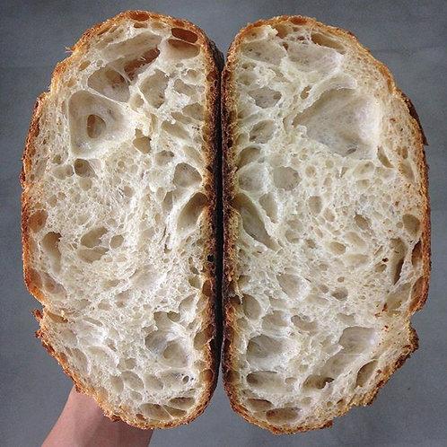 Pão branco orgânico - sábado