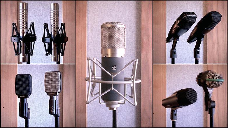 maxdbaudio Recording Studio London Microphones 2.jp