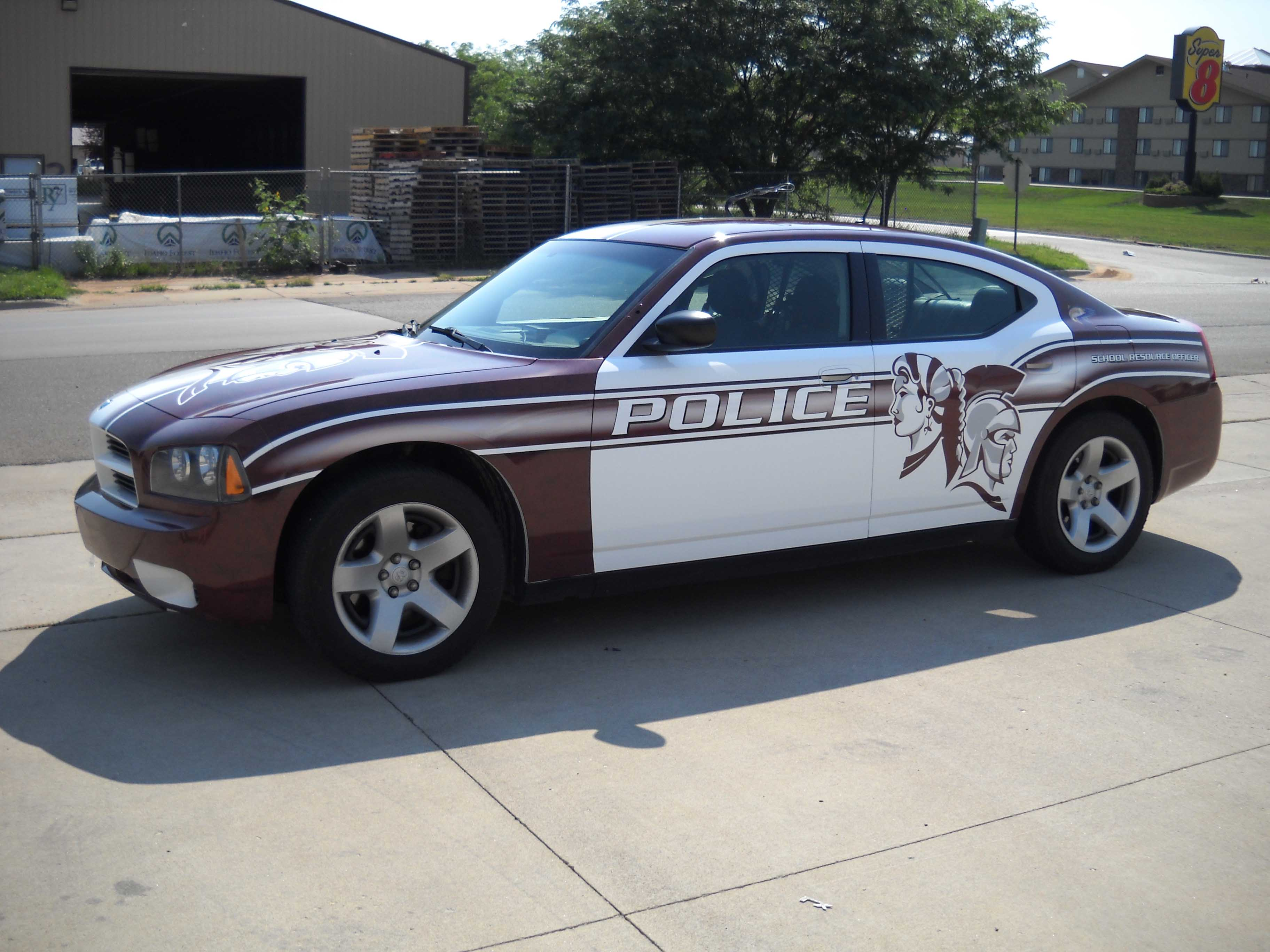 Spearfish Police Spartan Car