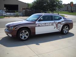 Spearfish Police Spartan Car