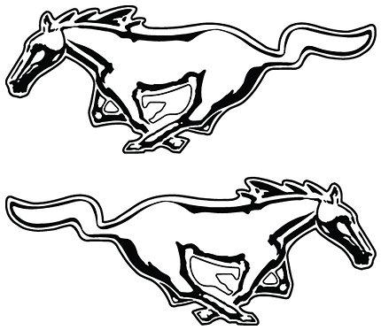 Horse, Left & Right
