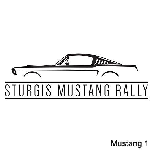Mustang Silhouette SMR