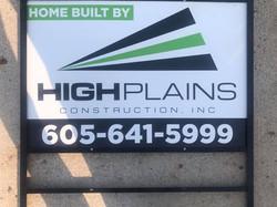 High Plains Construction