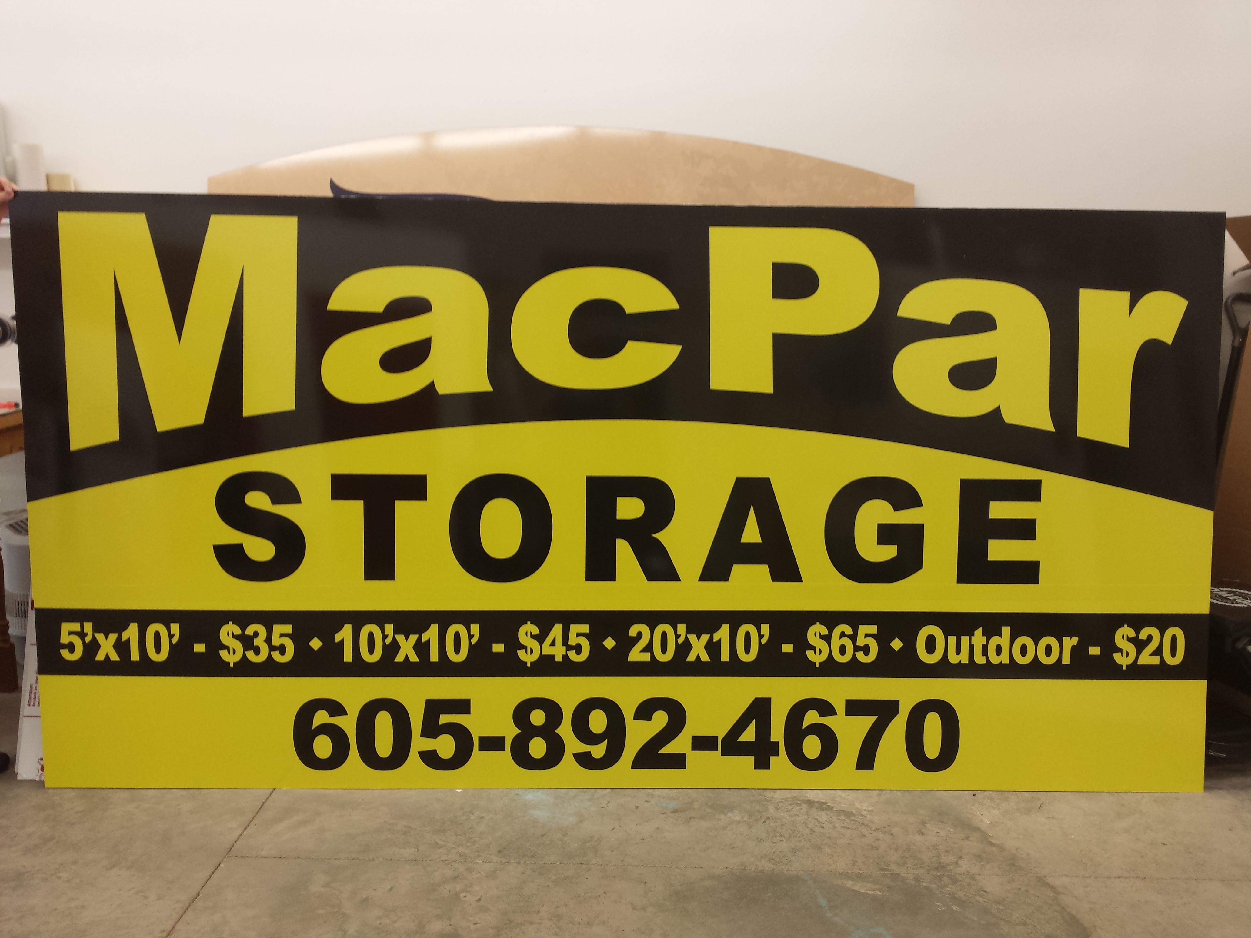 Mac Par Storage