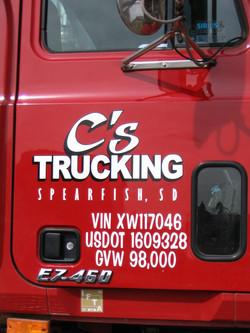 C's Trucking