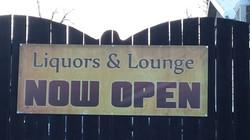 Liquor & Lounge Banner