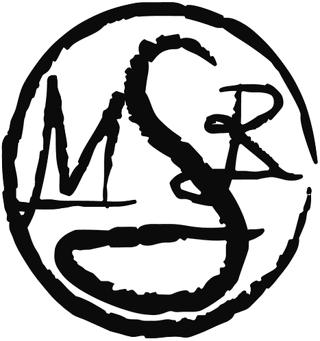 SMR Round Decal