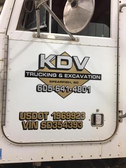 KDV Trucking & Excavation