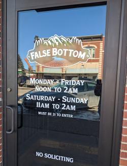False Bottom