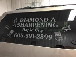 Diamond A Sharpening