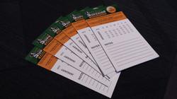 Magnet Business Card Calendar