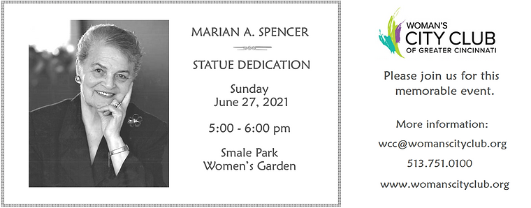 MARIAN SPENCER FLYER cropped for charter
