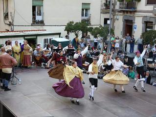 Actuación por las fiestas de Santa Orosia en Jaca