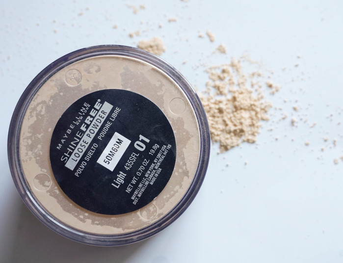 Trusty Product Tuesday: Maybelline Shine-Free Loose Powder