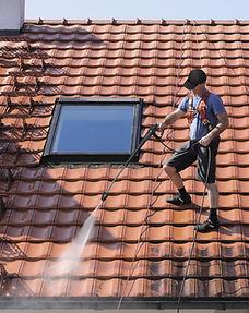 Limpeza do telhado