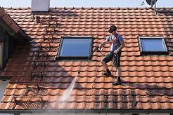 Roof washing in San Antonio