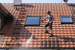 屋根のクリーニング