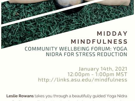 Midday Mindfulness with Arizona State University