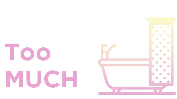 "Una ducha diaria es ""too much"" para mi vagina."