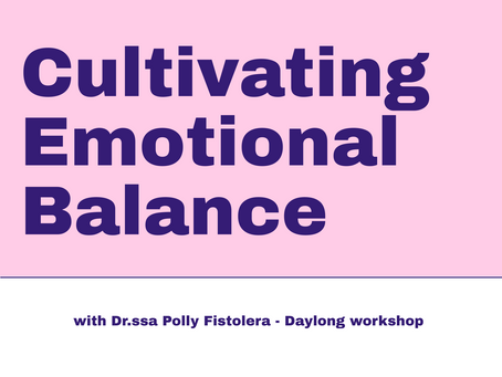 April 5th - Cultivating Emotional Balance, Montreal, Canada