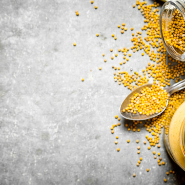 New Wholegrain Mustard recipe with a perfectly balanced flavour and texture