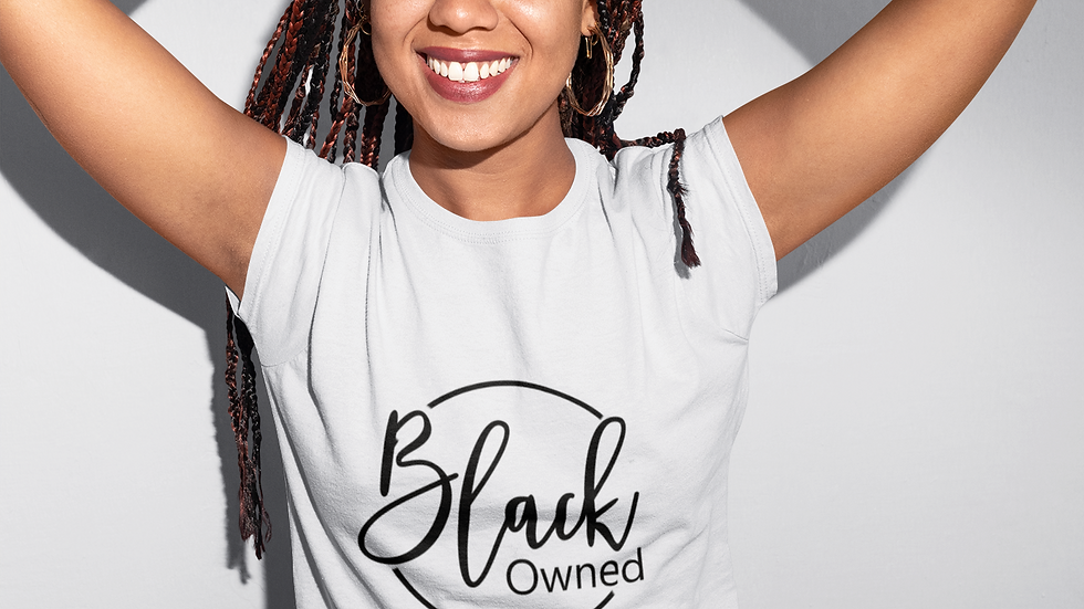 """""""Black Owned"""" T-Shirt"""
