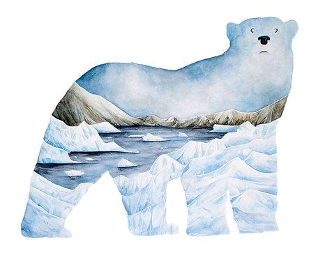 Polar Bear - Art Print