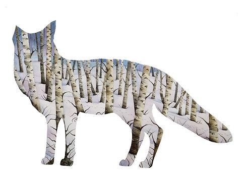 Fox - Art Print