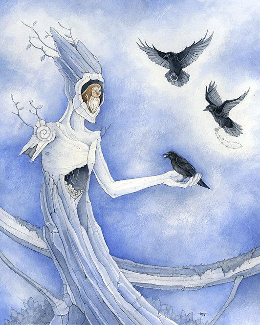 Atonement - Original Framed Watercolor