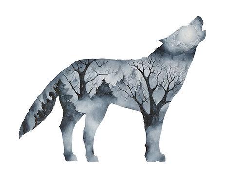 Wolf - Art Print