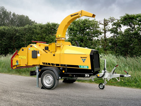 Vermeer BC200 Brush Chipper - Organic waste management has never been so easy!