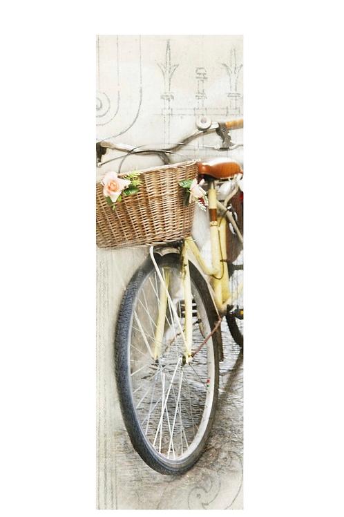 Yellow Bike Timber Art