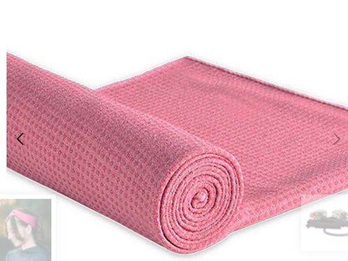 Silicon Dot Yoga Towel