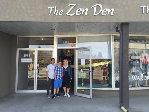 The Zen Den is open!