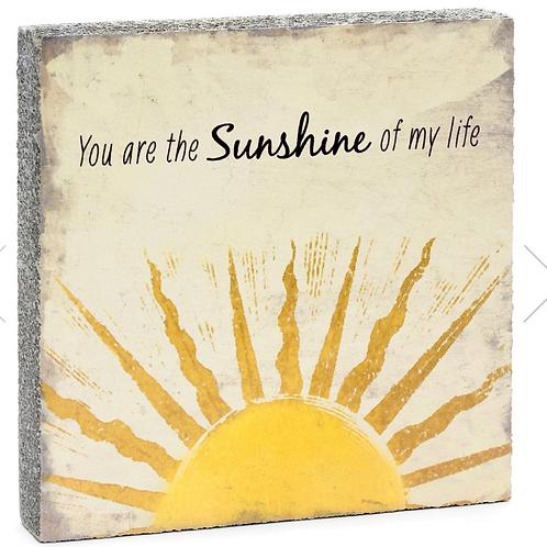 Sunshine Timber Art Block -big square